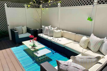♥️of Chelsea NYC🗽Private Terrace Garden 2Bed/2Bath