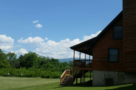 Island Ford Riverfront Cabin Famous Luray VA area! - Rileyville