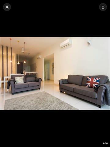 Huge Double room in funky apartment - Kuala Lumpur - Pis