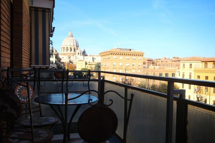 Romantic view Vaticano Elegant Flat - Rom - Wohnung
