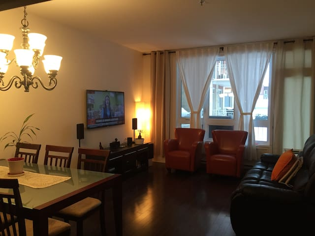 Nice,quiet and close to downtown! - Montreal - Apto. en complejo residencial