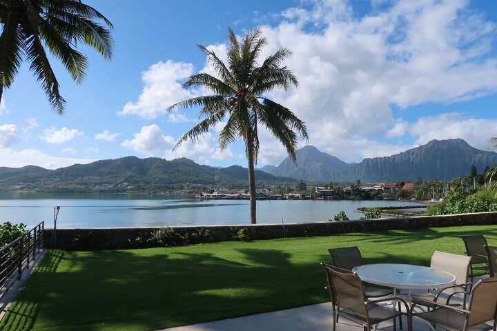 Look at those mountain and ocean views all at once. There is no doubt that you are in paradise!