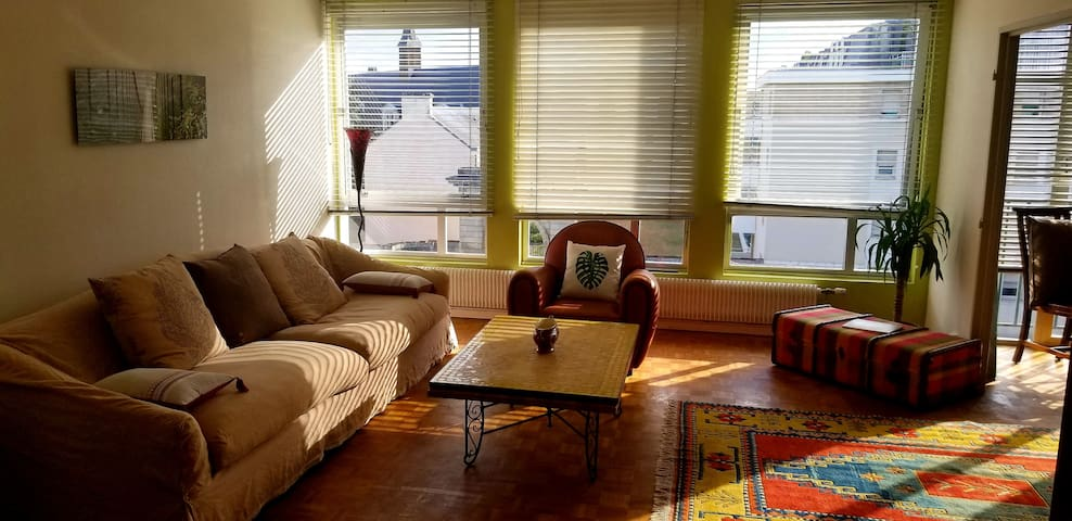 Sunny, quiet and central family apartment