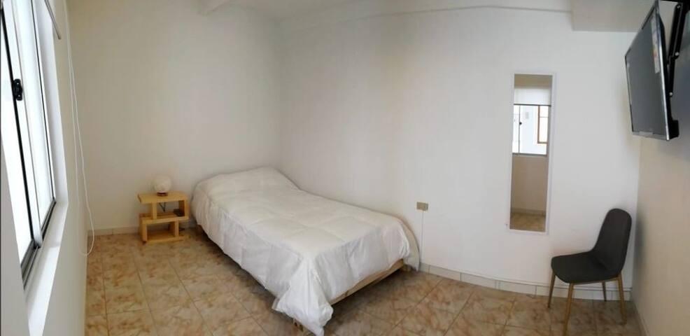 habitación individual independiente, balneario