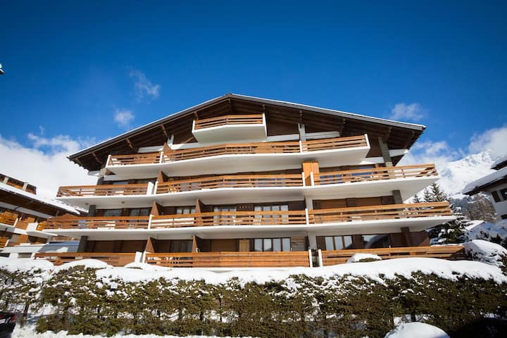 Central Verbier, Renovated Apartment