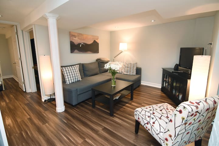 Beautiful two bedroom apartment close to downtown!