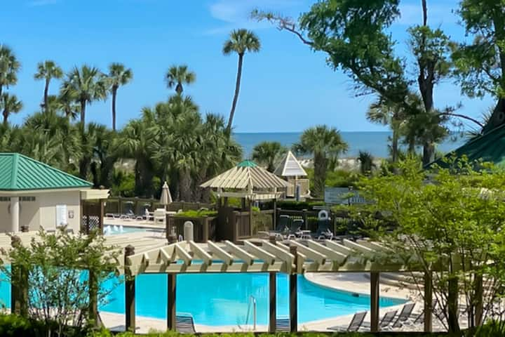Newly Updated 1 bed/2 bath in Windsor Court at the Palmetto Dunes Resort!