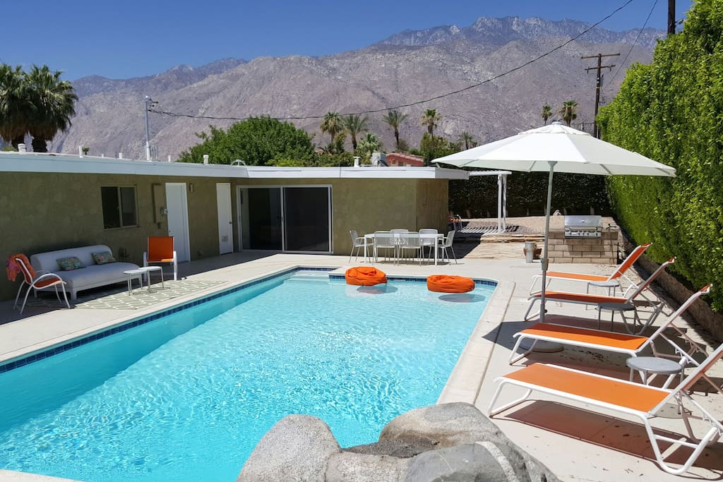 Deal Of The Mid Century Houses For Rent In Palm Springs California United States