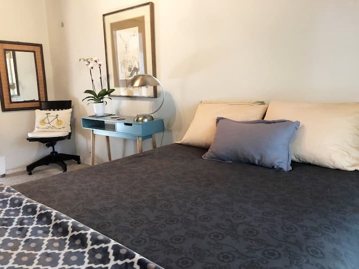 Marvelous private room, easy access Bay Area