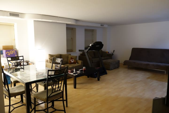 Spacious 1 bedroom in the heart of New Haven - New Haven - Condominio