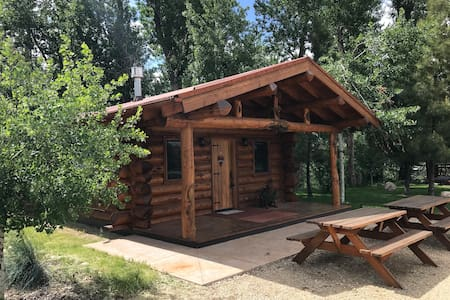 Private Luxury Log Cabin near Red Lodge, MT