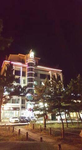 스트라우스모텔(Motel Strauss) 호수방향 4인 객실 - Changhae-ro, Gangneung