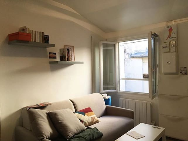 Paris studio for the dreamers (not perfectionists)