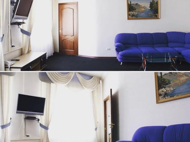 Improved Люкс1-double bed. Hotel Zama