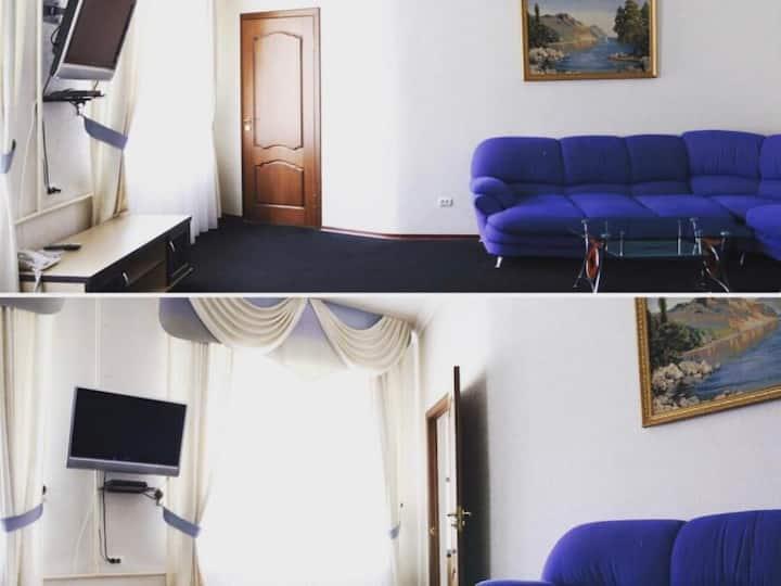 Improved Люкс1-double bed. Hotel Zama