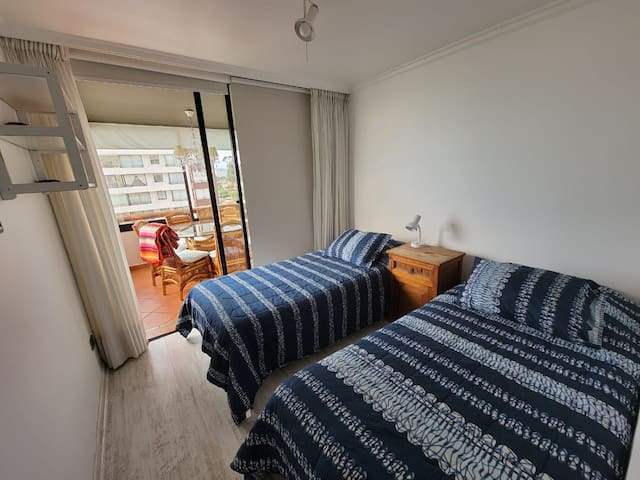 Dormitorio N° 3 2 Camas de 1 plaza