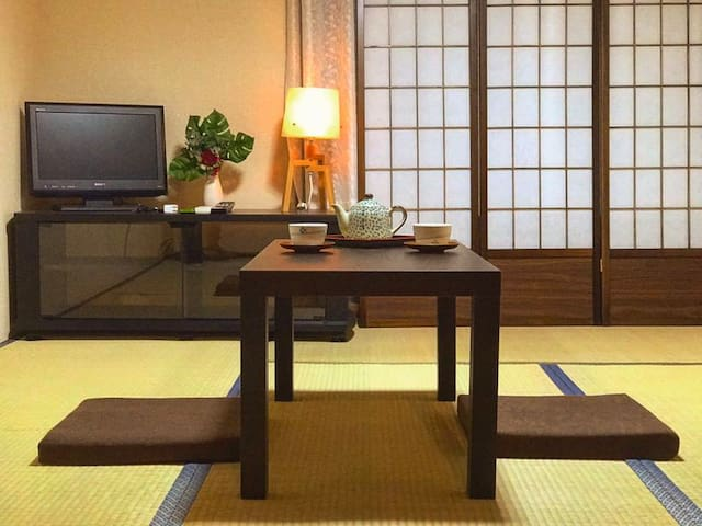 Tatami 2.5min from station by walk - Shinjuku-ku - Apartamento