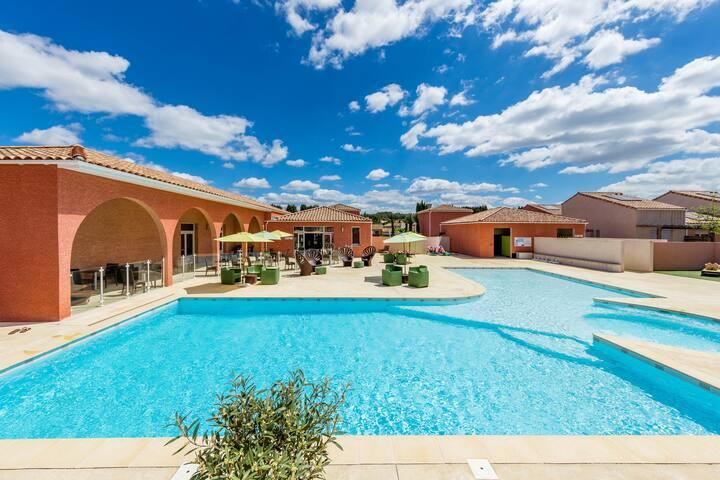 Villa 6 personnes proche Montpellier - Saint-Christol