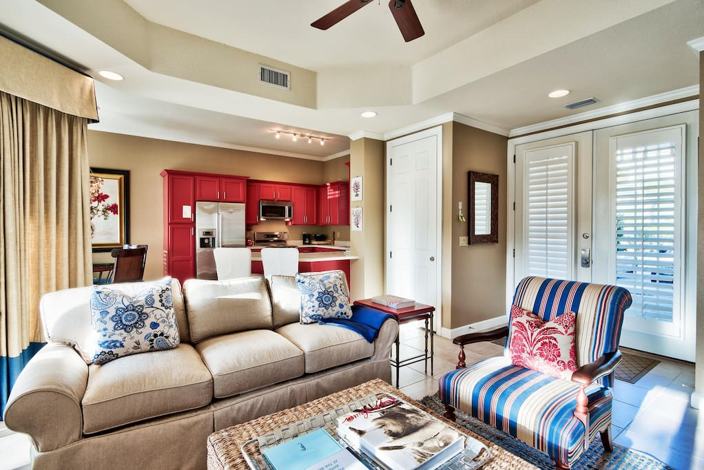 Living Room - Vacation in sty
