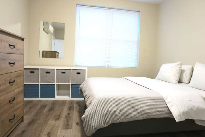 Brand-new & Luxurious 2BR APT | Perfect for long-term stays | Garage Parking | All Utilities Included | #21