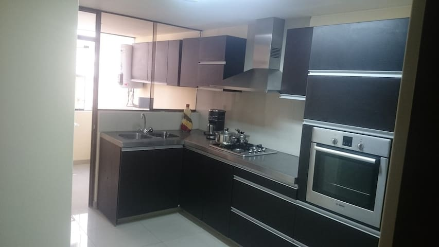 Perfectly located and safe apartment YANAHUARA - Arequipa - Leilighet