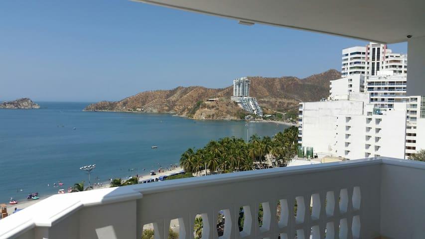 Apartamento con vista al mar. - Santa Marta - Daire