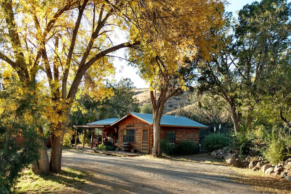 The Agave Guest House in Autumn
