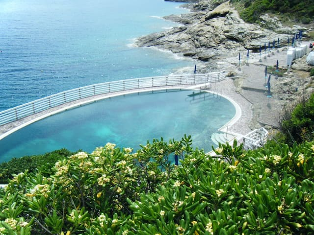 Elba con giardino caletta privata SCONTO NAVE 20%