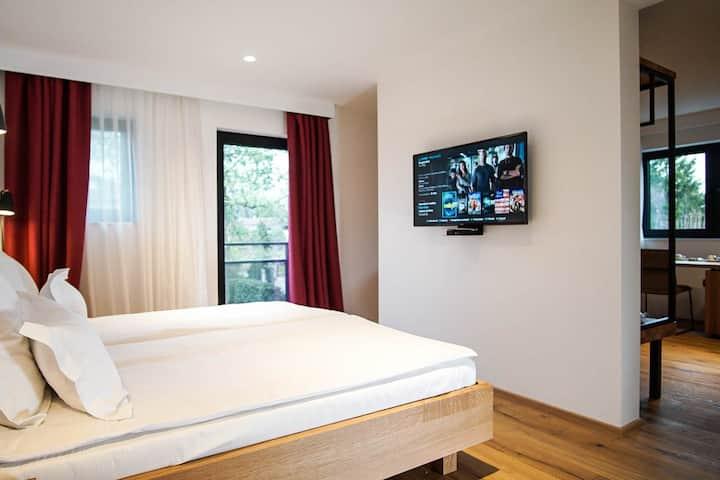 The Vault Hotel Junior suite