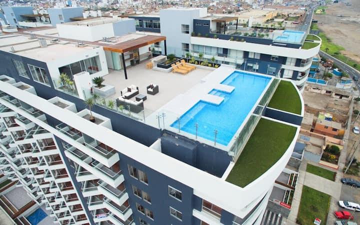 Nice ocean view apartment