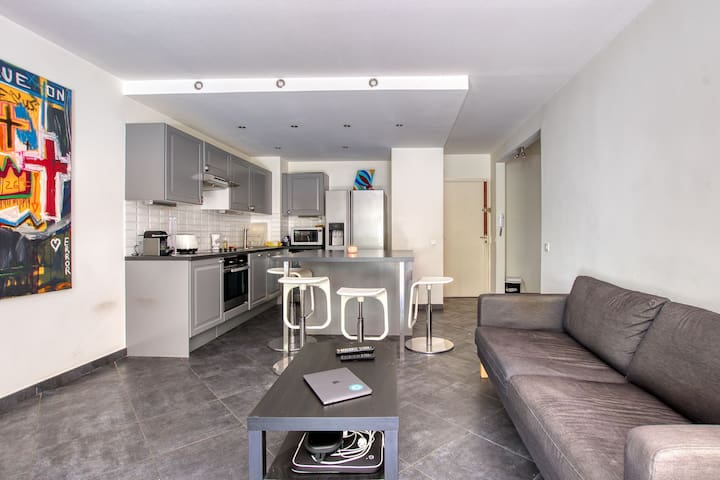 Superbe appartement avec jardin sanary centre