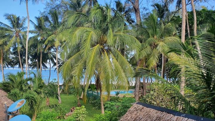 Mwamba Villa at Kivulini Paradise Beach.