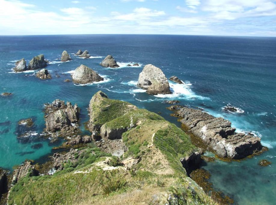 Nugget Point Lighthouse viewing platform