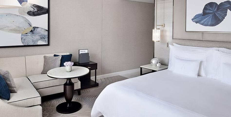 Unwind in comfort of our Deluxe Room