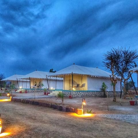Adventure camp in Jawai