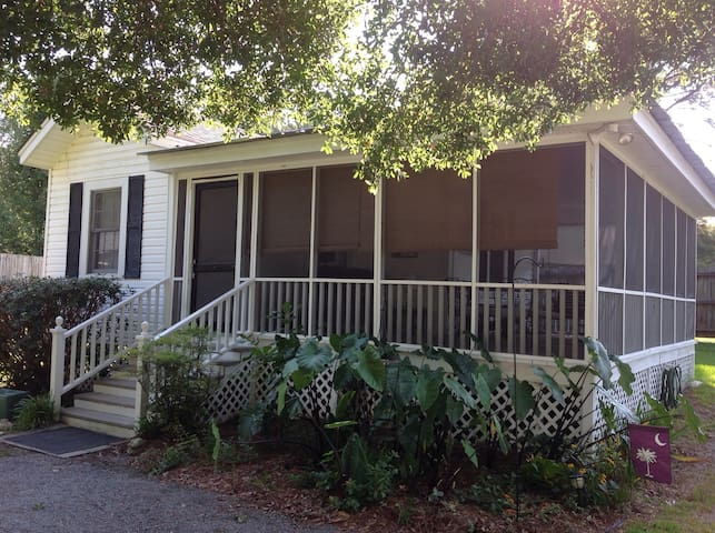 Nina's Cottage-Downtown Summerville - Summerville - Huis