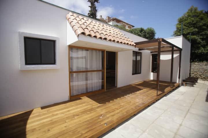 casa moderna, frente playa san pedro y yating
