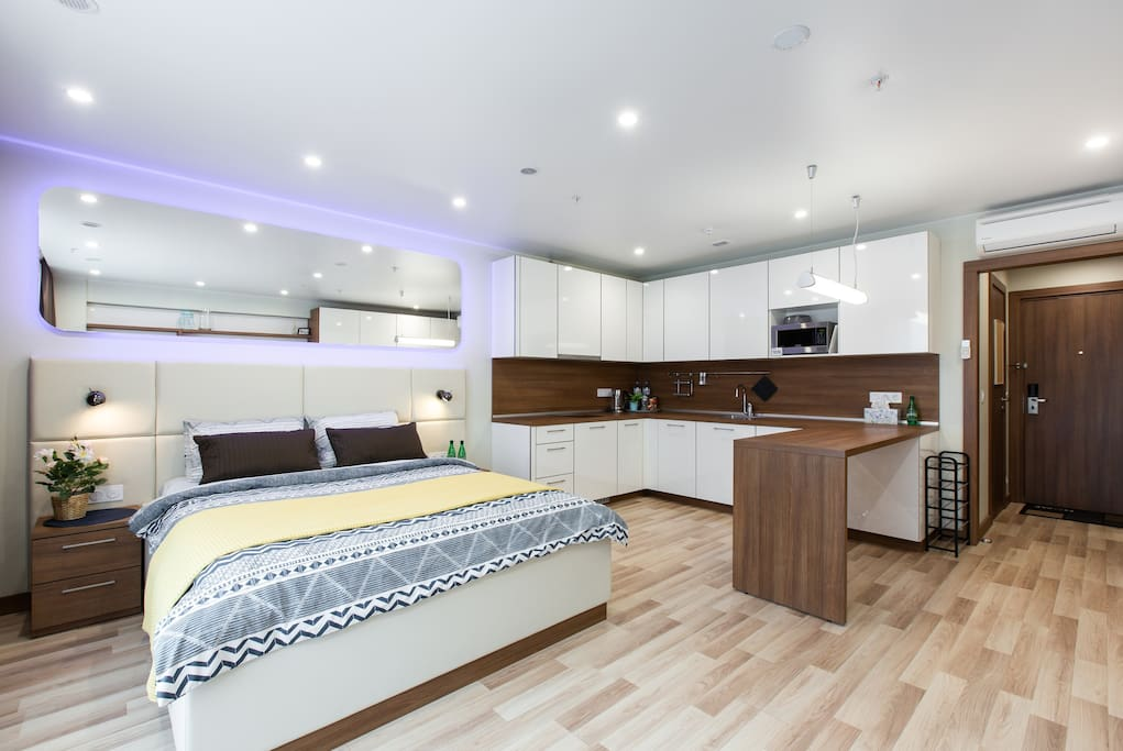 Largest Superior+ apartments with very large kitchen area / Самые просторные апартаменты Superior+ с очень большой кухней