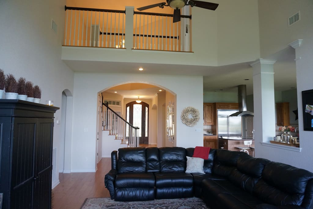 Step through the grand entry door and start enjoying the views with our open floor plan.