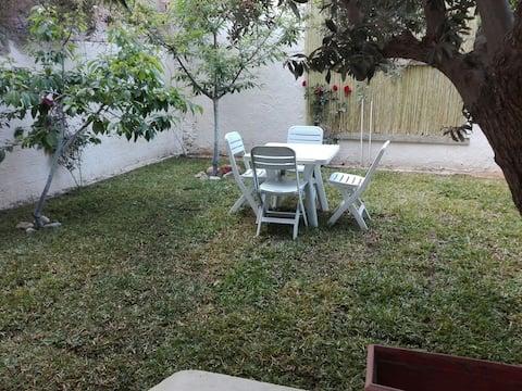 Maison neuve avec jardin  climatisé a kelibia