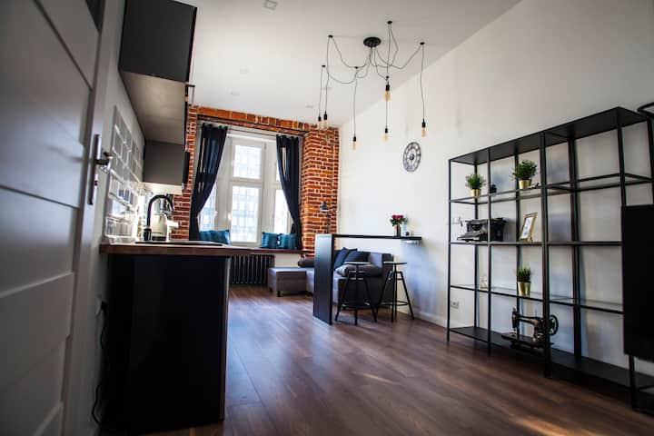 Łódź Apartament LOFT  Industrial EC1