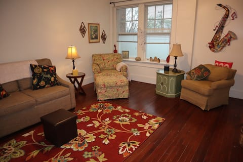 Vintage downtown vibe 1 bedroom apartment
