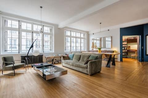 Luxury Apt-105m2-Rue Vieille du Templ/Le Marais