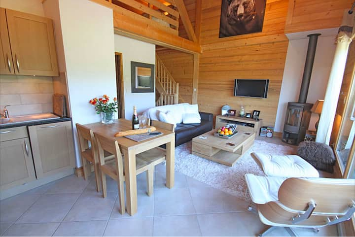 Morzine Ski Chalet With Amazing Mountain Views