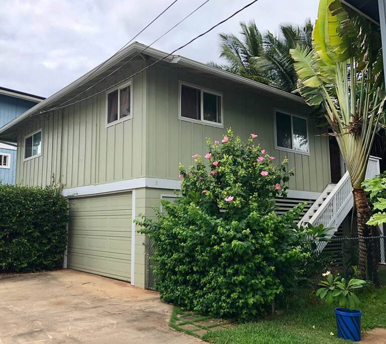Beach House In Oahu: Peaceful Waialua Beach Side Retreat Oahu