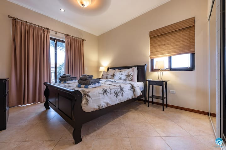 All our bedrooms are fully airconditioned