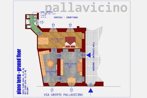 1 bedroom flat in Cremona's city centre
