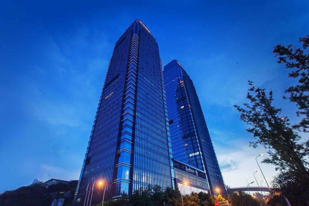 U91cd U5e86 U4e3d U7b19 U4e16 U5609 U9152 U5e97 Radisson Blu Plaza Chongqing