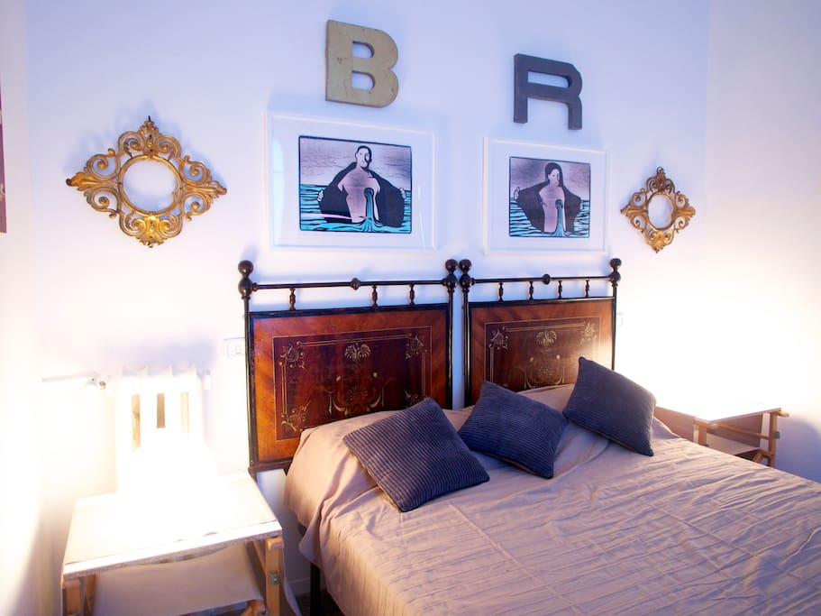 The main bed room