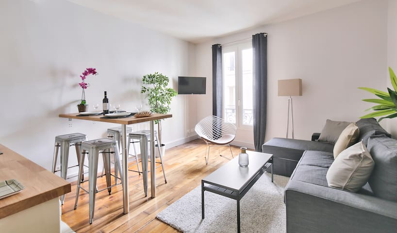 "Family apartment ""Buttes Chaumont"" (832)"